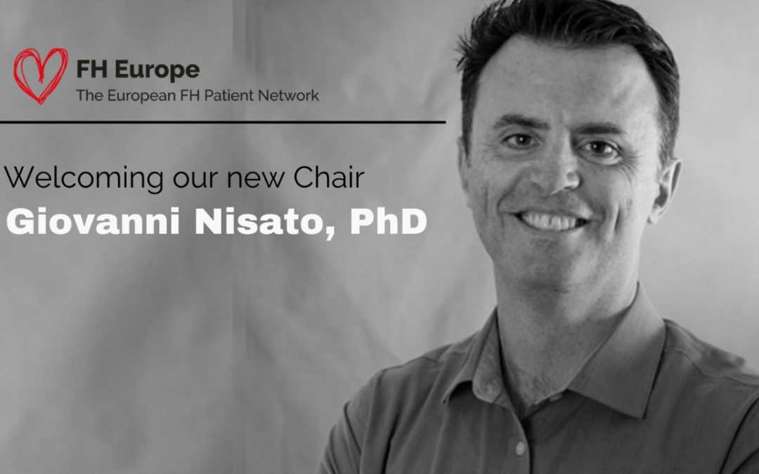 Welcome to our new Chair – Giovanni Nisato